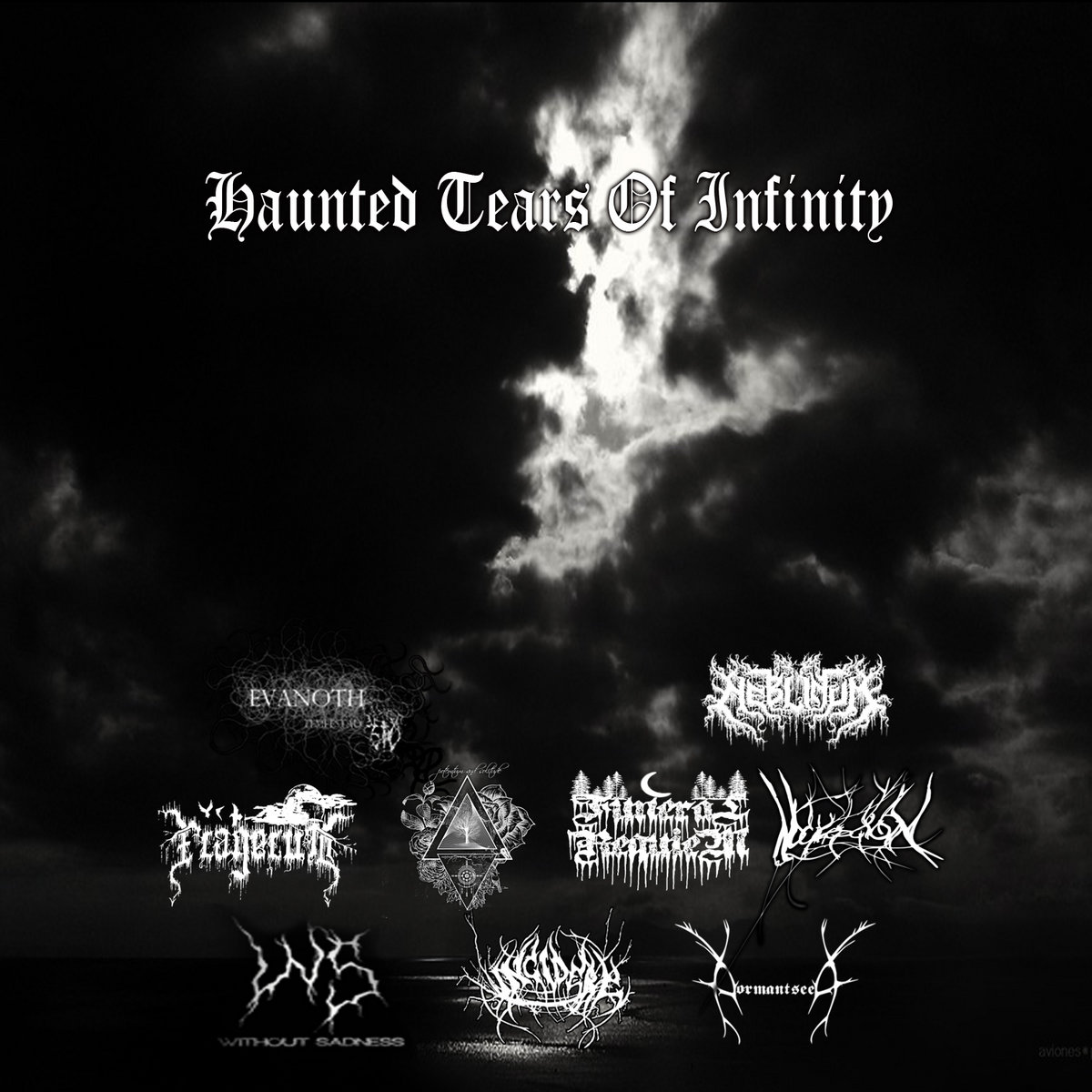 Dormant Seed & Evanoth & Falgelum & Funeral Requiem & Incidere & Neblinum & Noicepcion & Potemtum And Solitude & Without Sadness - Haunted Tears Of Infinity (Split)